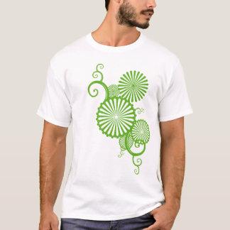 arabescos sombrilla verde playera