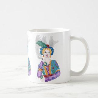 Arabesk Classic White Coffee Mug