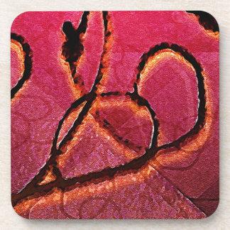 Arabesque Artistic Texture Beverage Coaster