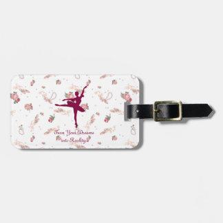 arabesque bag tag