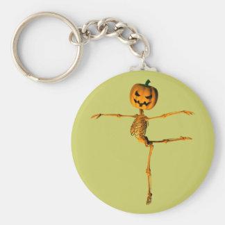 Arabesque Ballet Position Keychain
