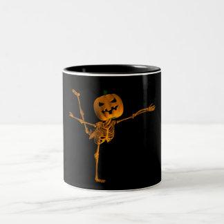 Arabesque Ballet Position Two-Tone Coffee Mug