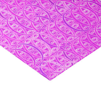 """Arabesque damask - lavender and orchid 10"""" x 15"""" tissue paper"""