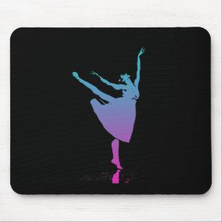 Arabesque Dancer Dances Mouse Pads
