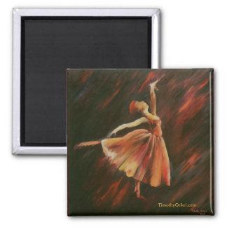 Arabesque Dancer - Magnet
