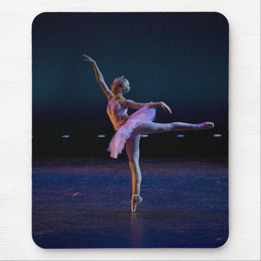 Arabesque del ballet tapete de ratón