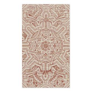 Arabesque del Victorian, IDALIS - pergamino Plantillas De Tarjeta De Negocio