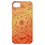 Arabesque del Victorian, IDALIS - puesta del sol iPhone 5 Case-Mate Cárcasa