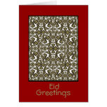 Arabesque Eid Greeting Card