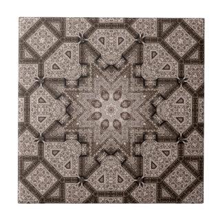 arabesque grabado teja  ceramica
