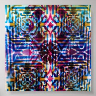 Arabesque Islamic Art Poster