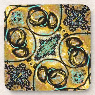 Arabesque Ornament Drink Coaster