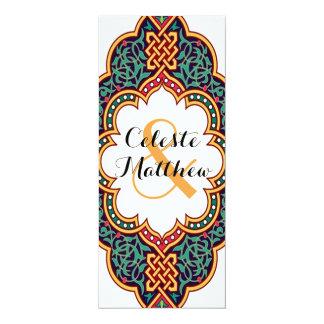 Arabesque Persian Art Indian Wedding Invite Invite
