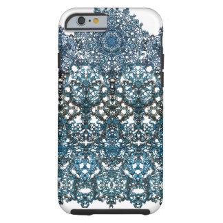 arabesque romántico del ornamento funda resistente iPhone 6