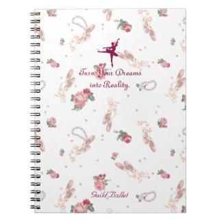 arabesque spiral notebook