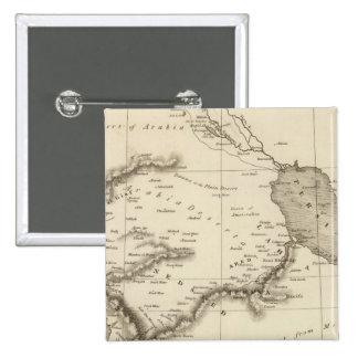 Arabia 2 pin cuadrada 5 cm