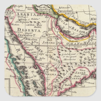 Arabia 3 square sticker