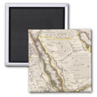 Arabia, Aethiopia, Aegyptus 2 Inch Square Magnet