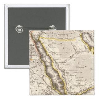 Arabia, Aethiopia, Aegyptus Button