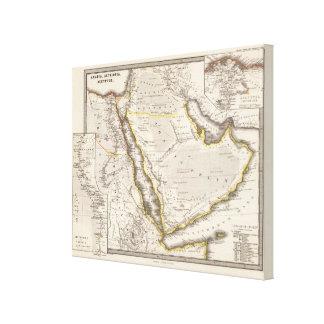 Arabia, Aethiopia, Aegyptus Canvas Print
