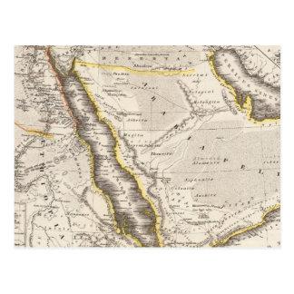 Arabia, Aethiopia, Aegyptus Postcard