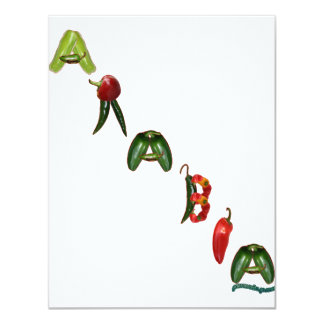 Arabia Chili Peppers Card