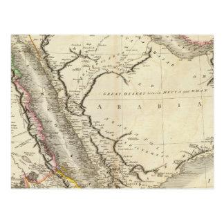 Arabia, Egipto, Abyssinia, Mar Rojo Tarjeta Postal