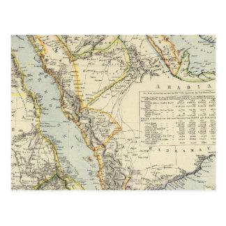 Arabia, Egipto, Nubia, Abyssinia 2 Postal