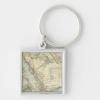 Arabia, Egypt, Nubia, Abyssinia 2 Keychains