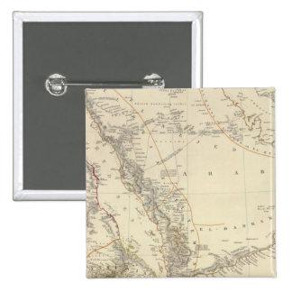 Arabia, Egypt, Nubia, Abyssinia Pinback Button