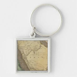 Arabia, Egypt, Nubia Key Chains