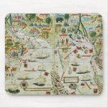 """Arabia y la India, del """"atlas de Miller"""", c.1519 Alfombrilla De Raton"""