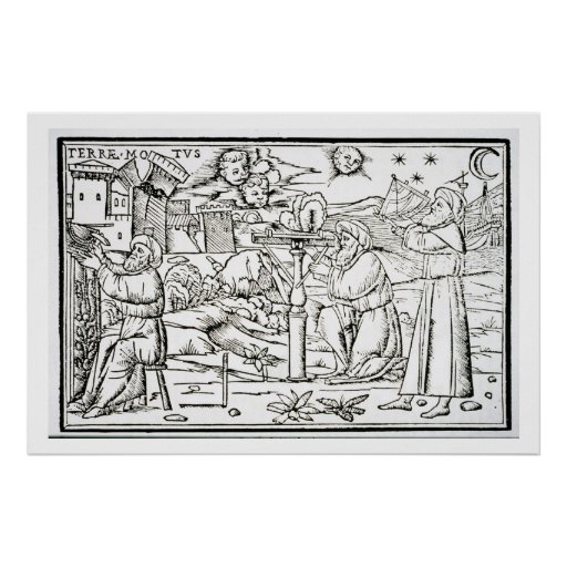 Arabian Astrologers, copy of an illustration from Poster