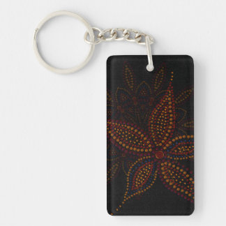 Arabian Blossom Acrylic Keychain