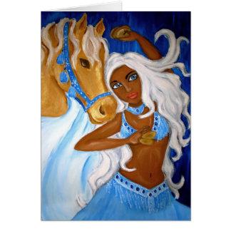 Arabian Blues Card