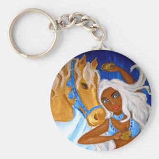 Arabian Blues Keychain