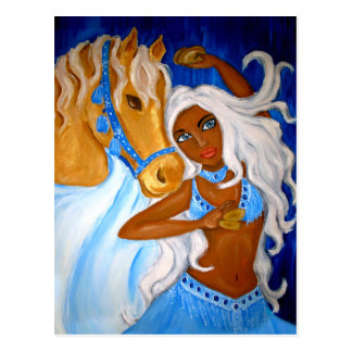 Arabian blues Postcard