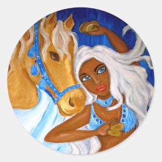 Arabian Blues Sticker