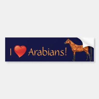 Arabian Bumper Sticker