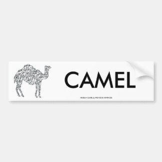 ARABIAN CAMEL BUMPER STICKER