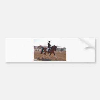 Arabian Dressage Bumper Sticker