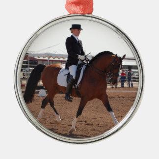 Arabian Dressage Metal Ornament