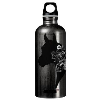 Arabian Floral Silhouette Water Bottle
