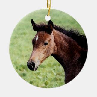Arabian foal ornament