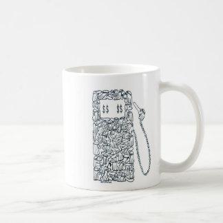 Arabian Gas Pump Classic White Coffee Mug