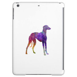 Case Savvy Glossy Finish iPad Air Case with Greyhound Phone Cases design