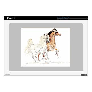 Arabian Horse 17 Inch Laptop Skin Template