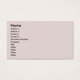Arabian Horse - Alia Business Card