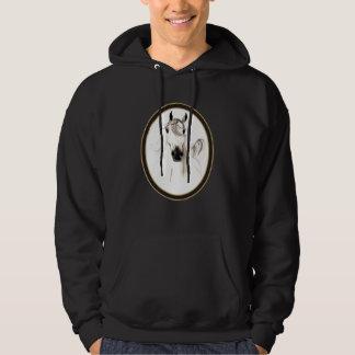 Arabian Horse Cameo Custom Hooded Sweatshirt