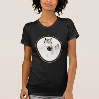 Arabian Horse Cameo Ladies Petite T-Shirt